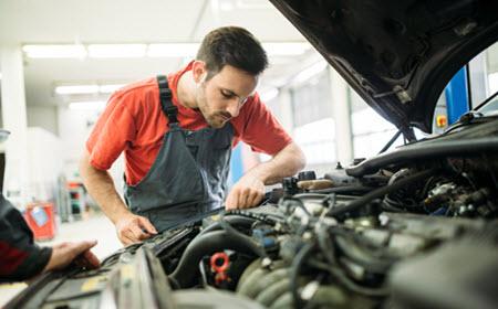 Mercedes Engine Maintenance
